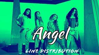 "Fifth Harmony - ""Angel"" (Line Distribution)"