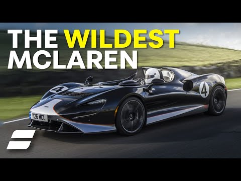 McLaren Elva FLAT OUT On Track: This Thing Is WILD!