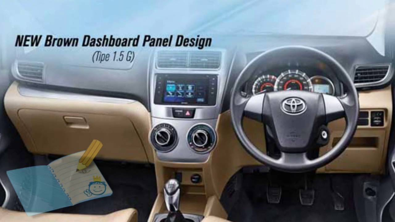 Dashboard Grand New Avanza Spesifikasi Veloz 1.3 Terbaru 2017 Youtube