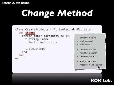 ROR Lab 19: Rails Database Migration (1)