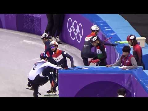 平昌オリンピック Short Track 1500m Final 林孝峻