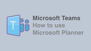 Microsoft Ekipleri ile Planlayıcı Kullanmak için nasıl