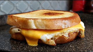 Fried Egg and Cheese Sandwich  Grilled Cheese and Egg Sandwich