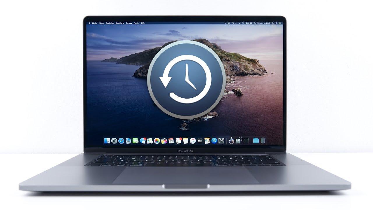 Neuinstallation Mac