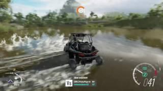 Forza Horizon 3 Polaris RZR 1000 mudding