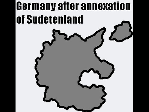 The German Annexation of Sudetenland