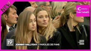 Emma, Ilona et Cameron, les petits-enfants de Johnny Hallyday présents pour l'hommage à leur grand-p