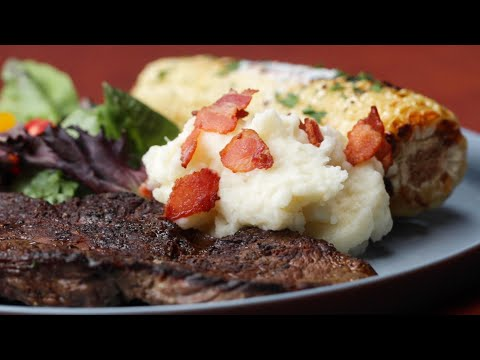 Maple Bacon Mashed Potatoes  • Tasty