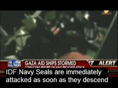 Censored Footage from the Gaza Flotilla - How Violence Breaks Out