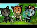 Развивающие и обучающие песенки Три котенка Прыгать и скакать теремок песенки для детей mp3