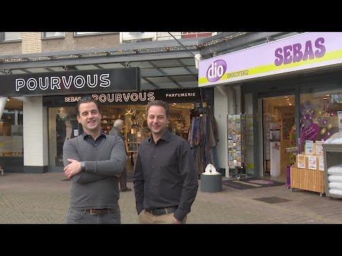 Drogisterij en Parfumerie SEBAS Nieuwegein - Clip van dit familiebedrijf op het Muntplein
