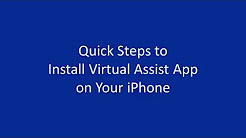 Downloading the Virtual Assist App - iPhone | Allstate Insurance