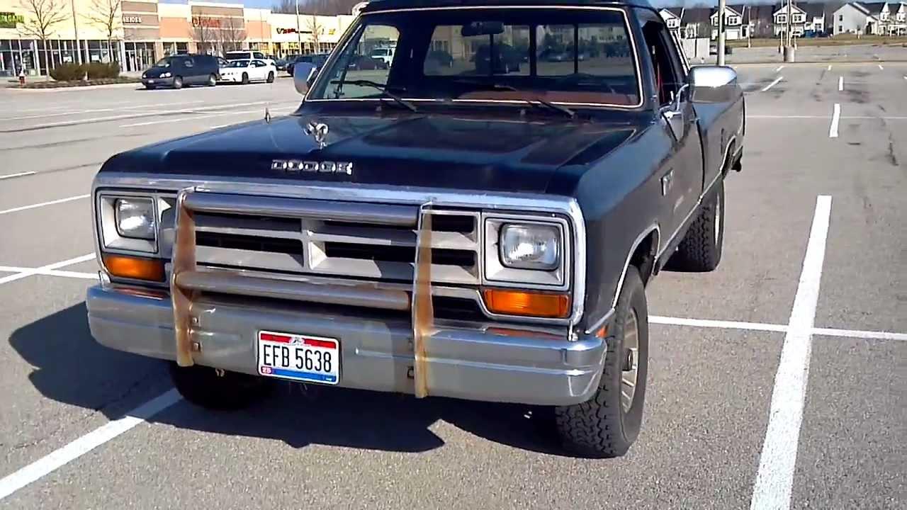 Dodge Ram Bull Bar >> Dodge Power Ram 4x4 - YouTube