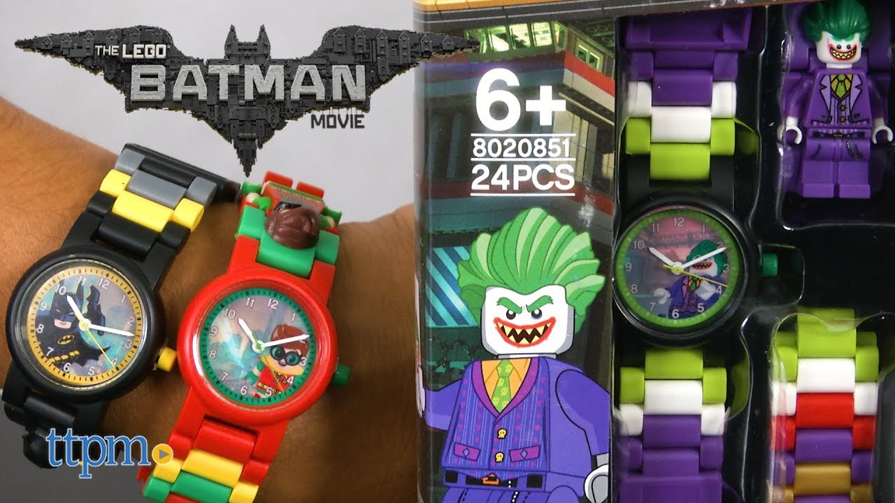 8e11ff1e3d1 LEGO Batman Buildable Watch from ClicTime - YouTube