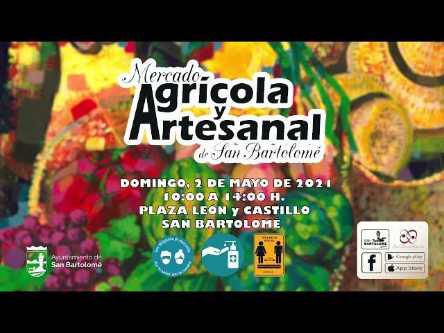 Reapertura del Mercado Agrícola de San Bartolomé 2021
