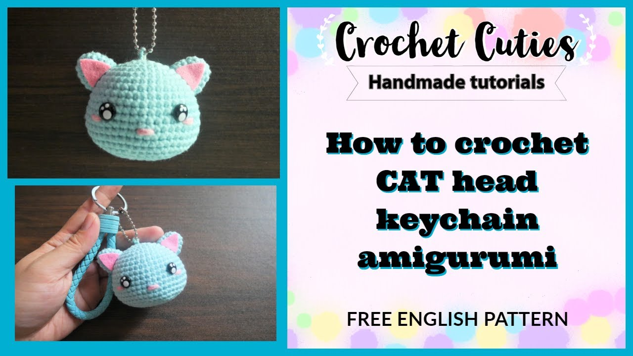 Cat amigurumi crochet pattern - Amigu World | 720x1280