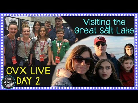 CVX LIVE DAY 2 & EXPLORING SALT LAKE CITY