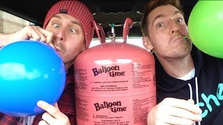 HELIUM TANK IN THE DRIVE THRU! Video