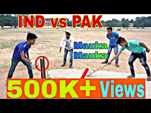 IND vs PAK Funny Match 2017 | Mauka Mauka | Round2Hell | Kirkiri Dhn|