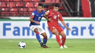 Thailand vs Malaysia: AFC U-16 Championship 2014
