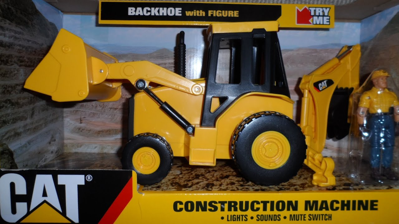 Digger Toy Caterpillar Cat Backhoe Loader Digger Toy Review