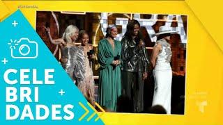 ¡Mira a los mejores vestidos de los Premios Grammy! | Un Nuevo Día | Telemundo
