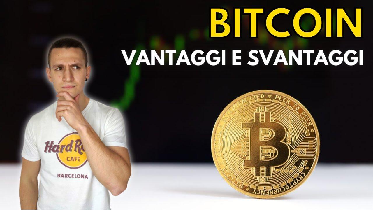 Vantaggi e svantaggi dei bitcoin - RTALive