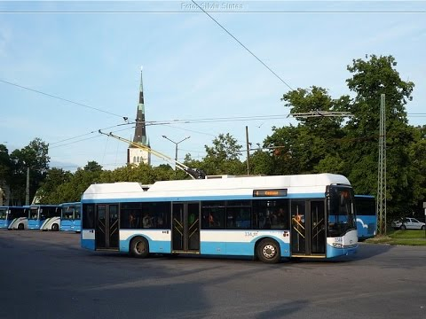 Tallinn trolleybuses 2015