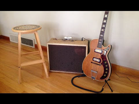 holy grail blues tone - harmony h49 stratotone jupiter & gibson tweed  falcon amp