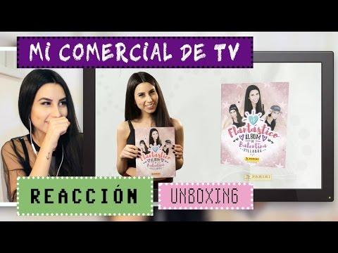 ¡VEO MI SPOT TELEVISIVO! 1ª vez (REACCIÓN) + unboxing ♥