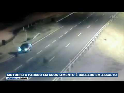 RS: Motorista é baleado durante assalto em rodovia