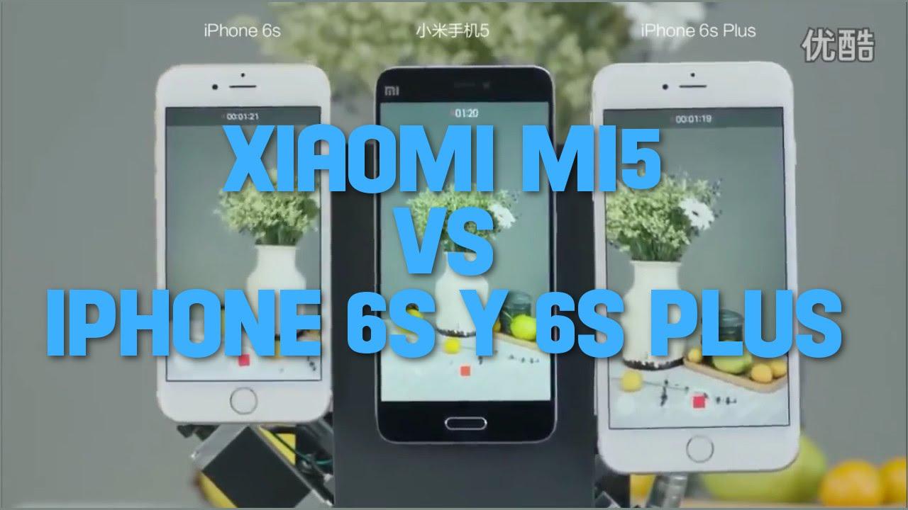 f4ce31fca55 Xiaomi Mi5 vs iPhone 6s y 6s plus estabilizador imagen y video Test cámara