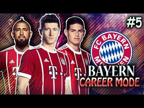 LEWANDOWSKI BACK FROM INJURY! BAYERN DOMINATING ALL COMPETITIONS!! - FIFA 18 Bayern Career Mode #5