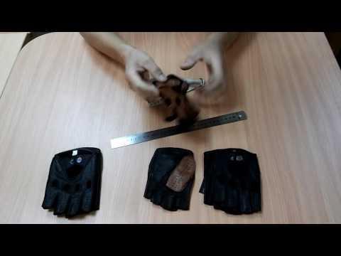 Соответствие размера мужских перчаток