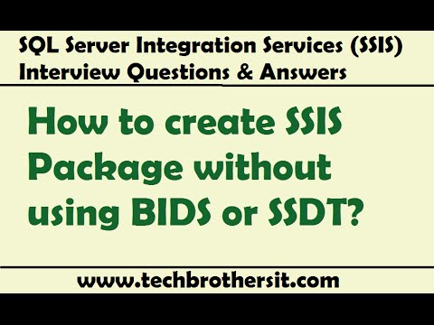 SSIS Interview Question- What are the different ways to run your - interview questions for servers