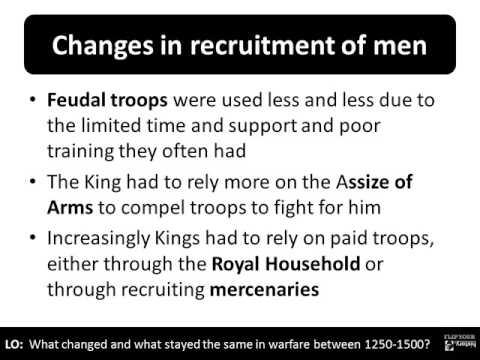 1   Warfare change and continuity 1250 1500