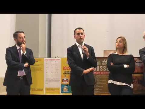 Luigi Di Maio - Giancarlo Cancelleri - Open Day Rousseau di Catania #SceglieteIlFuturo tour