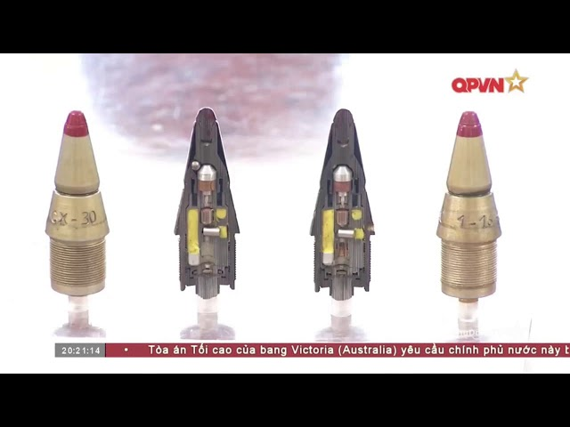Kỹ sư trẻ Quân đội Việt Nam nghiên cứu sản xuất vũ khí, đạn dược