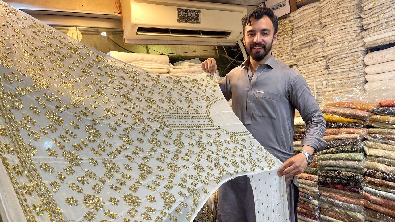 Bareeze New Winter Collection 2021 | Latest Mukesh Suit | Gota Work Suit | Bareeze Pure Chiffon Suit