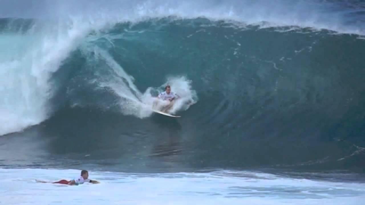 Biggest Pipeline Masters Surf Ever