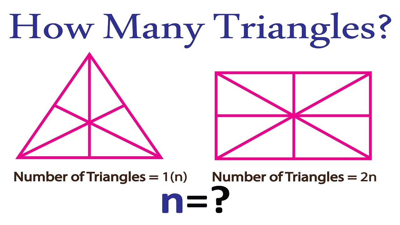 Triangle Counting Trick By Formula U2502triangle Reasoning