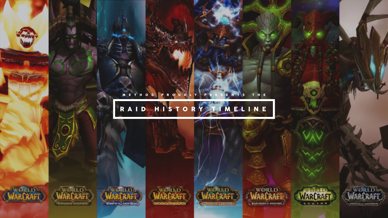 The Raid History World First Timeline Is Here! - News - Method
