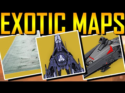 Destiny - Exotic Treasure Map! Exotic Sparrow! Exotic Ship!