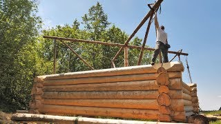 Building Off Grid Log Cabin - Ep 16 / Sometimes Things Don't Go as Planned