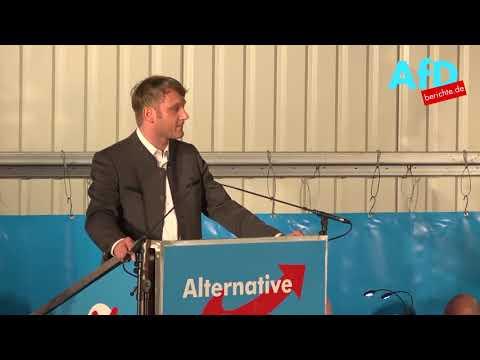 Andre Poggenburg in Pirna - Lachkrämpfe garantiert