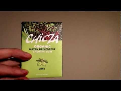 Chicza: Gomma da Masticare Biologica  (Organic Chewing Gum)