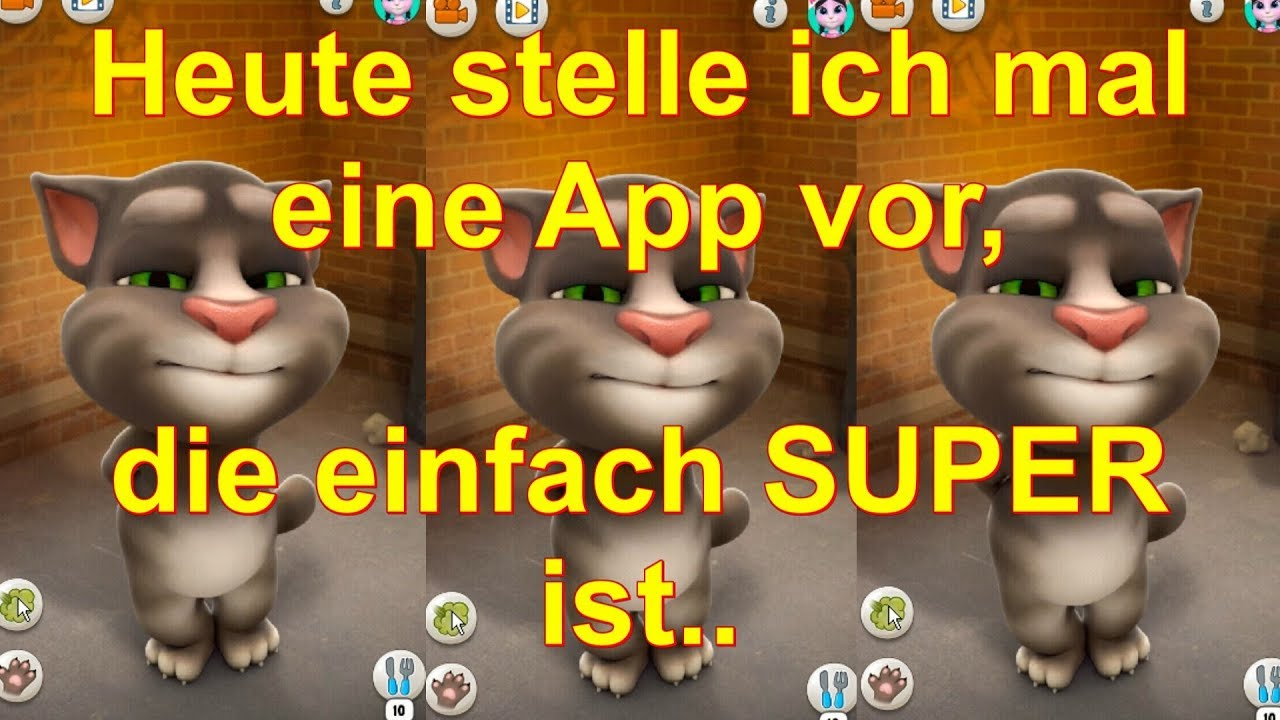 talking tom outfit7 app kostenlos farben reaktion kompilation lustige videos deutsch jung alt. Black Bedroom Furniture Sets. Home Design Ideas