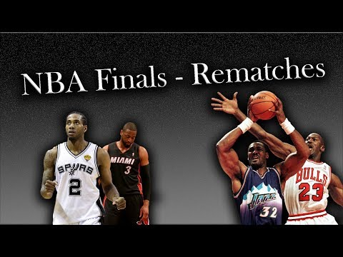 NBA Finals - A History of Rematches