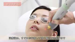 当院で導入しているお肌のレーザー治療「ジェネシス」についてご紹介い...