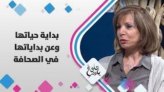 رندا حبيب - بداية حياتها وعن بداياتها في الصحافة